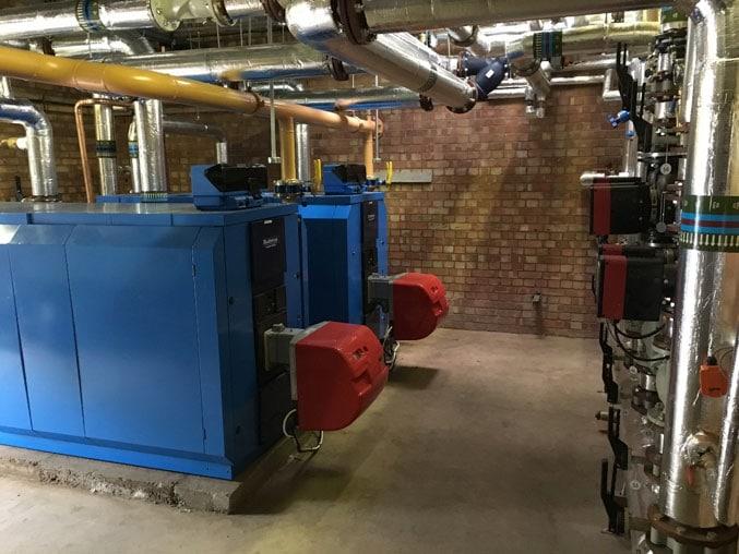 New school boiler system